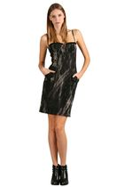 black Voom dress