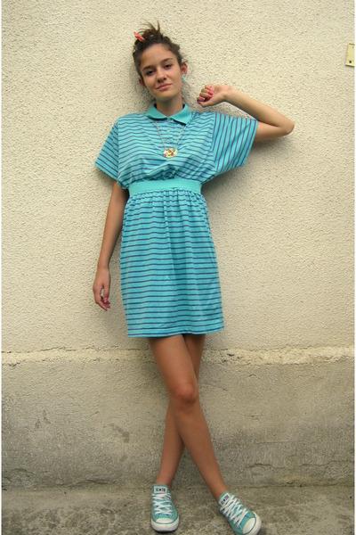 aquamarine Nuova moda t-shirt - aquamarine Nuova moda skirt