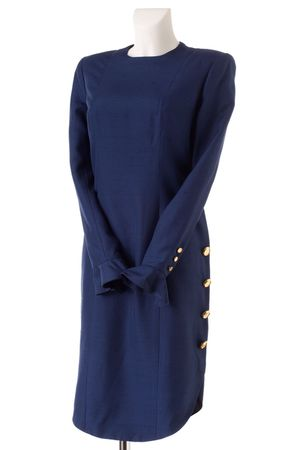 blue lanvin dress