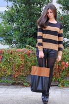 H&M cardigan - H&M bag - H&M shorts - Zara clogs