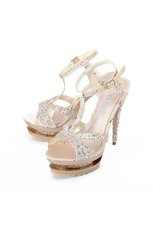 silk diamond Bqueen sandals