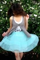 shirt - vest - skirt