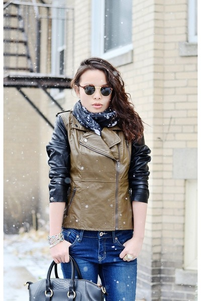 Lulus jacket - OASAP bag