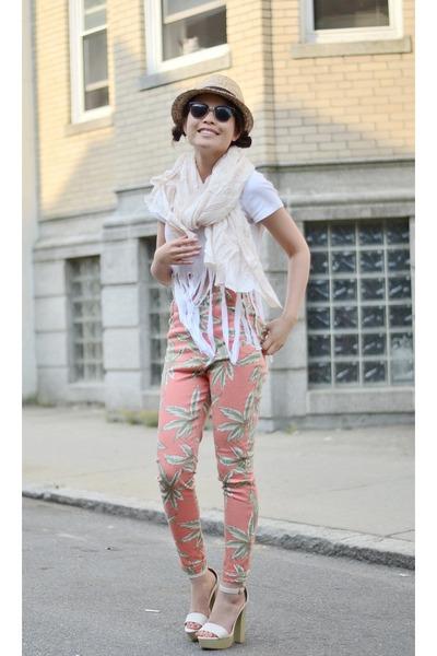 Motel Rocks pants - Lulus heels