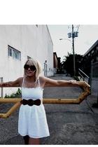 Seduction dress - Simons belt - D&G sunglasses - Seduction shoes - Aldo accessor