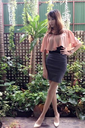 gray 21 Forever skirt