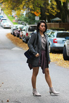 maison scotch shirt - sam edelman boots - banana republic blazer