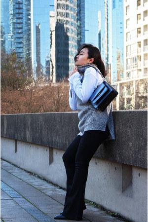 vince boots - Dr Denim jeans - Marni bag