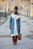 vintage coat - vintage from Ebay boots - vintage bag