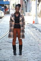 Marc by Marc Jacobs coat - Vintage Etienne Aigner boots