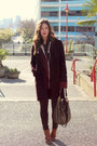 Maroon-cashmere-aritzia-coat-dark-brown-skinnies-coated-james-jeans-jeans