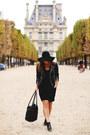 Black-ankle-boots-jonak-paris-boots-black-leather-jacket-walter-baker-jacket