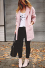 Light-pink-ankle-boots-zara-boots-light-pink-pastel-penneys-coat