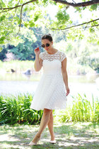 white floral ted baker dress