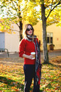 Brown-brogues-shoe-embassy-shoes-ruby-red-boxy-pollen-sweater-sweater