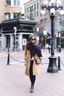 Tan-wool-aritzia-coat-navy-blanket-aritzia-scarf