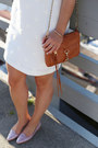 White-mini-dress-darling-dress-tawny-rebecca-minkoff-bag