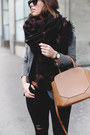 Black-skinny-jeans-james-jeans-jeans-deep-purple-blanket-scarf-aritzia-scarf