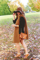 brown brogues Shoe Embassy shoes - dark brown floppy hat monoprix hat
