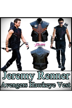 leather vest Top Celebs Jackets vest