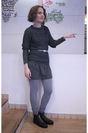 TVOE Yours - russian brand dress - BeFree sweater