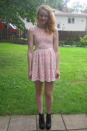 MinkPink dress - Magi heels