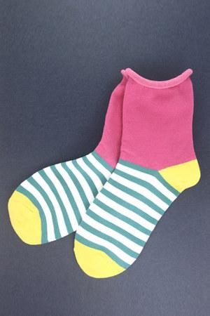 hot pink TPRBT socks
