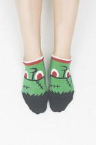 green TPRBT socks