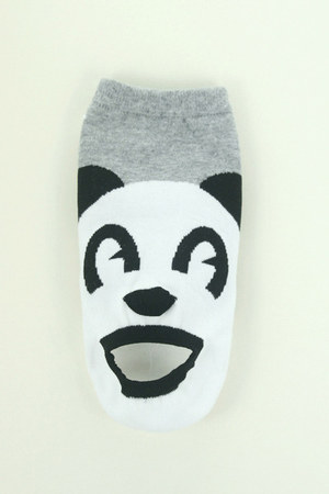 heather gray TPRBT socks