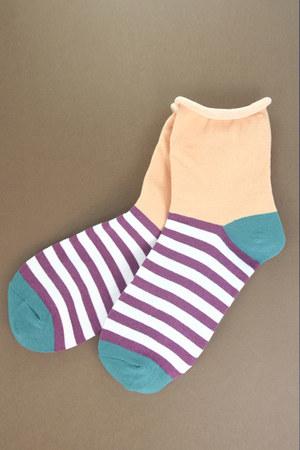 peach TPRBT socks