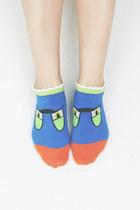 blue TPRBT socks