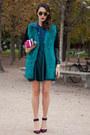 Turquoise-blue-coat
