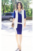Zara sweater - Zara vest - Patrizia Pepe skirt