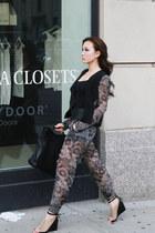 black Hulmet Lang blazer - hulmet lang pants