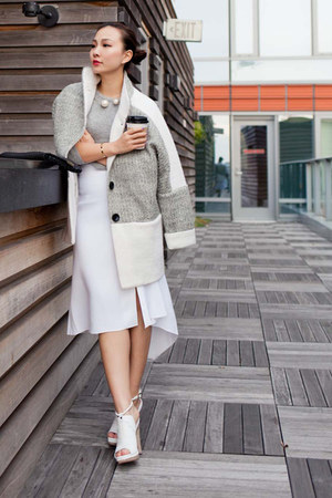 fewmoda coat - Zara skirt