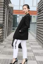 Zara jeans - Alexander Wang blazer - Zara heels