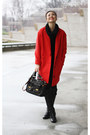 Red-space-coat-black-joe-fresh-sweater-black-joe-fresh-pants