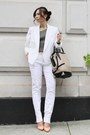 White-theory-blazer-alexander-wang-bag-charcoal-gray-theory-top