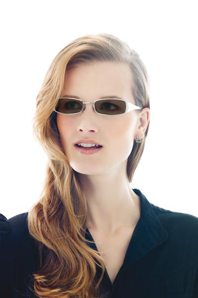 white Transition Lenses glasses