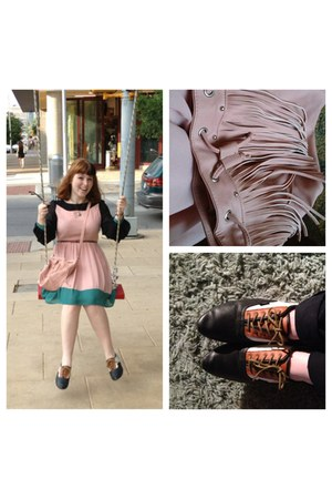 brown Vans sneakers - bubble gum Target purse