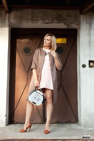 cotton PresKA dress - Ciriana coat