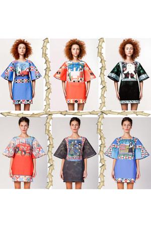 geometric Moja dress