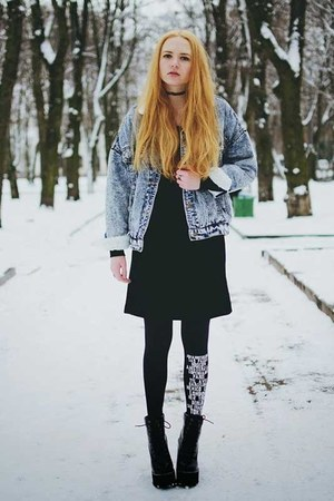 street style Zohara tights