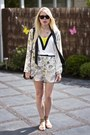 Cream-shorts-blazer-asos-suit-yellow-h-m-top