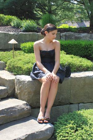 bow Valentino dress - bow kate spade heels