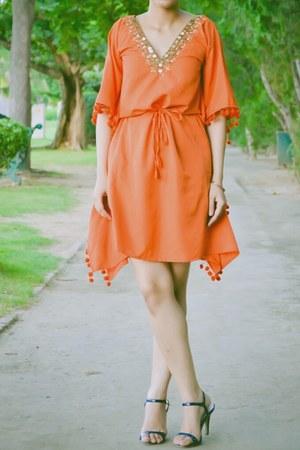TrimmingsAndLace dress - Marie Claire sandals - asos accessories