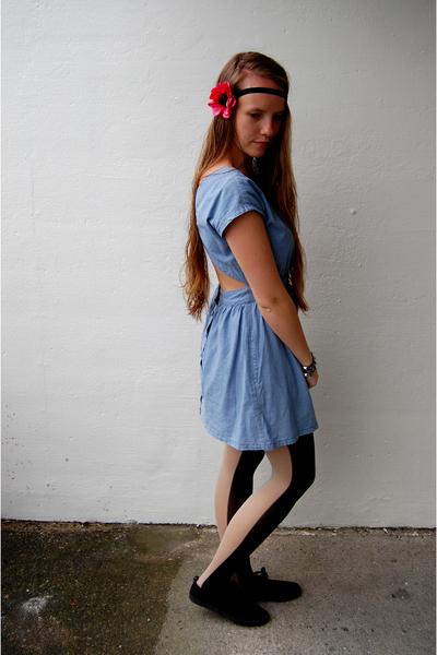 GINA TRICOT dress - H&M shoes