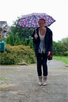 acne boots - Modstrm jacket - Miu Miu purse