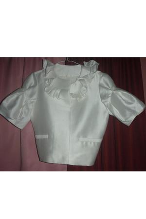 white vintage jacket