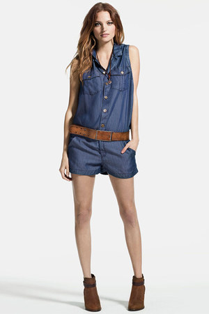 True Religion romper - True Religion belt